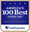 Americas 100 best cardiac care award | Healthgrades